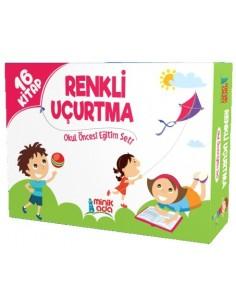 Minik Ada Yayınları Renkli Uçurtma Okul Öncesi Eğitim Seti