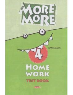 Kurmay Yayınları 4.Sınıf More&More Home Work Test Book