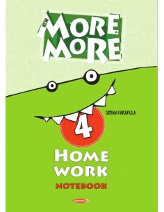 Kurmay Yayınları 4.Sınıf More&More Home Work Notebook
