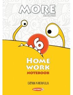 Kurmay Yayınları 6.Sınıf More&More Home Work Notebook