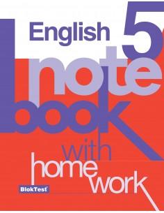 Bloktest Yayınları 5.Sınıf İngilizce Kazanım Defteri