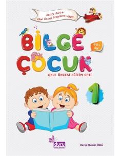 Duru Yayınları Bilge Çocuk Okul Öncesi Eğitim Seti +48 Ay