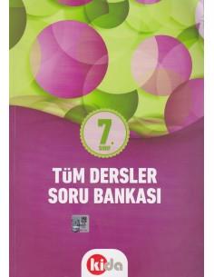 Kida Eğitim Yayınları 7.Sınıf Tüm Dersler Soru Bankası