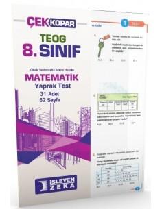İşleyen Zeka Yayınları Ortaokul 8. Sınıf Matematik Yaprak Test