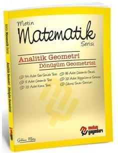 Metin Yayınları Bireysel Matematik Fasikülleri (Analitik Geometri)