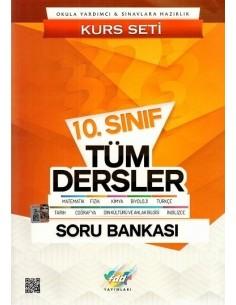 FDD Yayınları 10.Sınıf Tüm Dersler Kurs Seti Soru Bankası