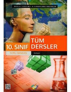 FDD Yayınları 10.Sınıf Tüm Dersler Soru Bankası