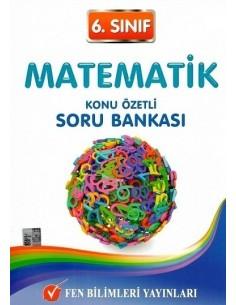 Fen Bilimleri Yayınları 6.Sınıf Matematik Konu Özetli Soru Bankası