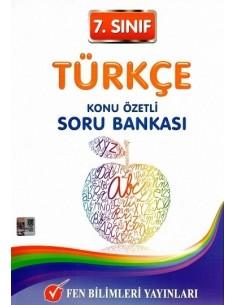 Fen Bilimleri Yayınları 7.Sınıf Türkçe Konu Özetli Soru Bankası