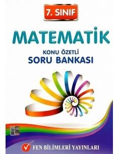 Fen Bilimleri Yayınları 7.Sınıf Matematik Konu Özetli Soru Bankası