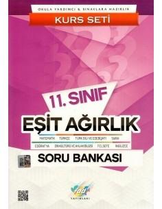 FDD Yayınları 11.Sınıf Eşit Ağırlık Kurs Seti Soru Bankası