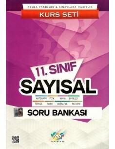 FDD Yayınları 11.Sınıf Sayısal Kurs Seti Soru Bankası