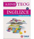 Türev Yayınları 8. Sınıf Ingilizce Soru Bankası