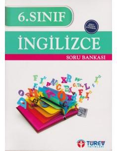 Türev Yayınları 6. Sınıf Ingilizce Soru Bankası