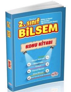 Editör Yayınları 2.Sınıf BİLSEM Konu Kitabı