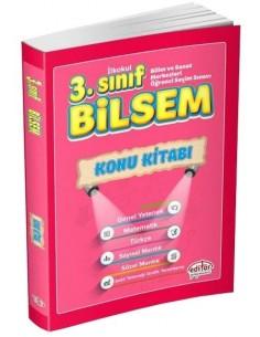 Editör Yayınları 3.Sınıf BİLSEM Konu Kitabı