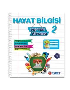 Türev Yayınları 2.Sınıf Hayat Bilgisi Defter Kitabım