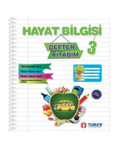 Türev Yayınları 3.Sınıf Hayat Bilgisi Defter Kitabım