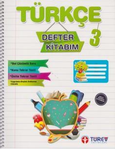 Türev Yayınları 3.Sınıf Türkçe Defter Kitabım