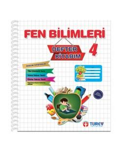 Türev Yayınları 4.Sınıf Fen Bilimleri Defter Kitabım