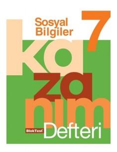 Bloktest Yayınları 7.Sınıf Sosyal Bilgiler Kazanım Defteri