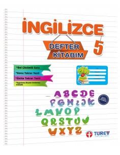 Türev Yayınları 5.Sınıf İngilizce Defter Kitabım
