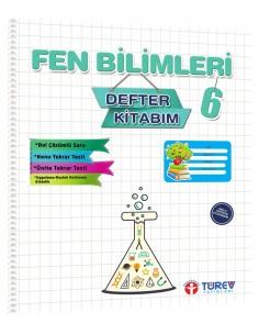 Türev Yayınları 6.Sınıf Fen Bilimleri Defter Kitabım