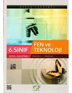 FDD Yayınları 6.Sınıf Fen ve Teknoloji Konu Anlatım