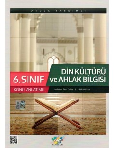 FDD Yayınları 6.Sınıf Din Kültürü ve Ahlak Bilgisi Konu Anlatım