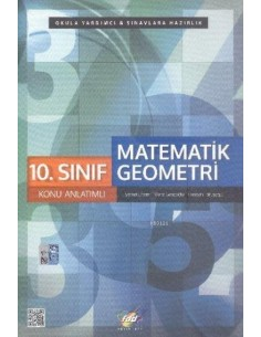 FDD Yayınları Lise 10.Sınıf Matematik Konu Anlatım