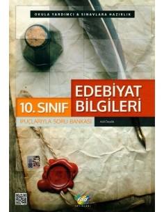 FDD Yayınları 10.Sınıf Edebiyat Bilgileri İpuçlarıyla Soru Bankası