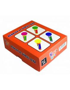 Yuka Kids 4 - 7 Yaş Renkler ve Görsel Zeka