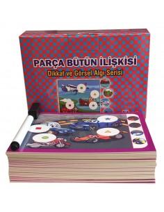Yuka Kids 3 - 6 Yaş Parça Bütün İlişkisi