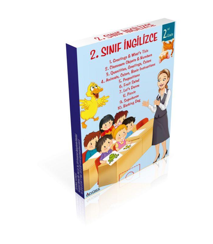 özyürek Yayınları Ingilizce Hikaye Seti 2 Sınıf 10 Kitap