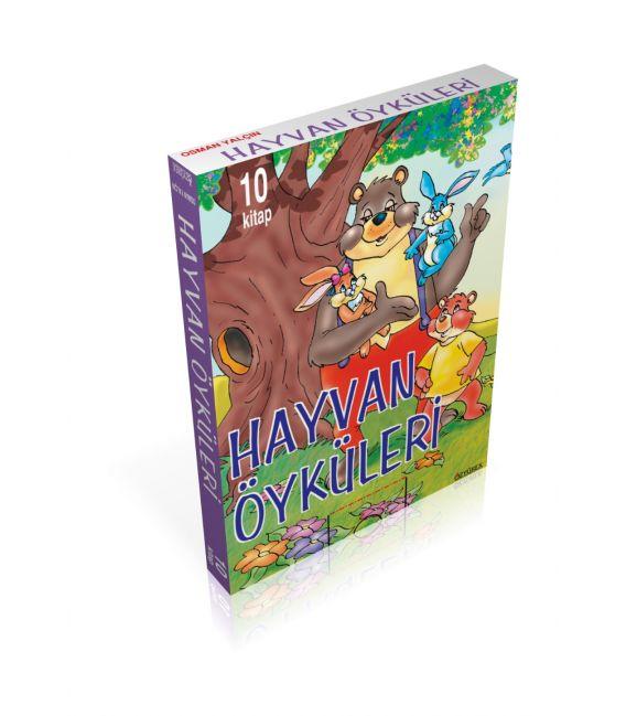 Özyürek Yayınları 2.Sınıf Hayvan Öyküleri (10 Kitap)