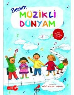 Erdem Yayınları Okul Öncesi Benim Müzikli Dünyam (60 Ay ve Üstü)
