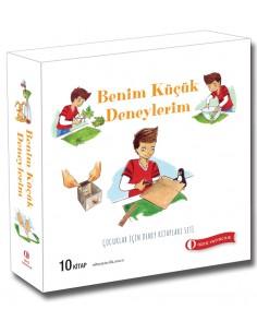 ODTÜ Çocuklar İçin Deney Kitapları Seti (10 Kitap)