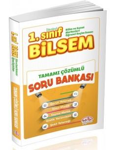 Editör Yayınları 1.Sınıf BİLSEM Tamamı Çözümlü Soru Bankası