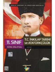 FDD Yayınları 11.Sınıf İnkılap Tarihi ve Atatürkçülük Konu Anlatım