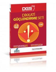 Adeda Yayınları Lise Dikkat Güçlendirme Seti  SBS Destekli (15-18 Yaş)