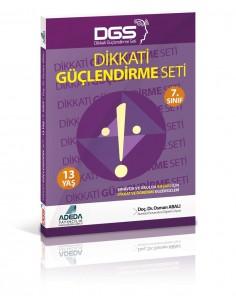 Adeda Yayınları 7.Sınıf Dikkat Güçlendirme Seti  SBS Destekli (13 Yaş)