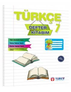 Türev Yayınları 7. Sınıf Türkçe Defter Kitabım