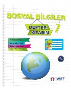 Türev Yayınları 7. Sınıf Sosyal Bilgiler Defter Kitabım
