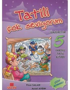 Salan Yayınları Tatili Çok Seviyorum 5. Sınıf Yarıyıl Tatil Kitabı