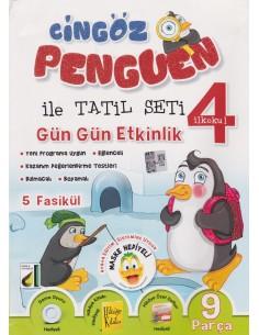 Damla Yayınları Cingöz Penguen 4. Sınıf Yarıyıl Tatil Kitabı