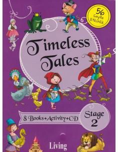 Living Yayınları Timeless Tales İngilizce Hikaye Seti Stage 2
