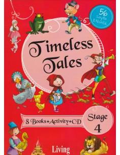 Living Yayınları Timeless Tales İngilizce Hikaye Seti Stage 4