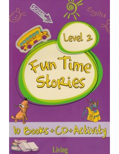 Living Yayınları Fun Time Stories Level 2