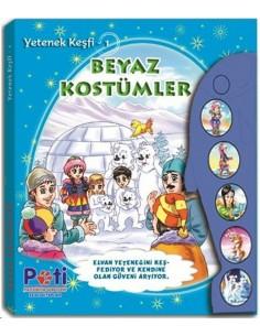 Pati Eğitim Sesli Kitap Yetenek Keşfi Beyaz Kostümler