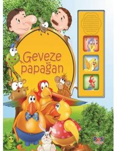 Pati Eğitim Sesli Kitap Geveze Papağan